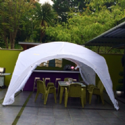 4m x 4m Gazebo Styled Dayroom Event Shelter (CLEARANCE)
